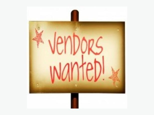 Vendor space available auction treasure trove for Vendors wanted for craft shows 2017